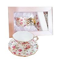 Чашка с блюдцем Крем Limited edition SNT 231-01