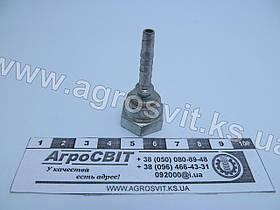 """Ниппель DKR 1/4""""-19 (под шланг dу=05 мм.)"""