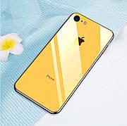 Скляний чохол для Iphone 6+ / 6s+ Plus Yellow