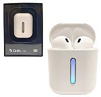Беспроводные наушники Bluetooth Q8L TWS с кейсом Power Bank. Блютуз гарнитура