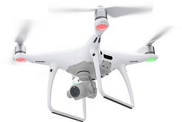 Квадрокоптер DJI Phantom 4 Pro дрон дальность полета  7 километров