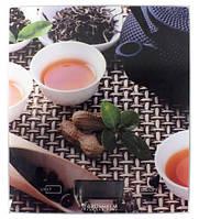 Ваги кухонні GRUNHELM KES-1PTE (чай) макс. вага 5кг, сенсорні, прямокутні 18х20см, з батареєю 1х3VCR