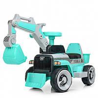 Электромобиль Bambi трактор M 4144L-4 Turquoise (M 4144L)