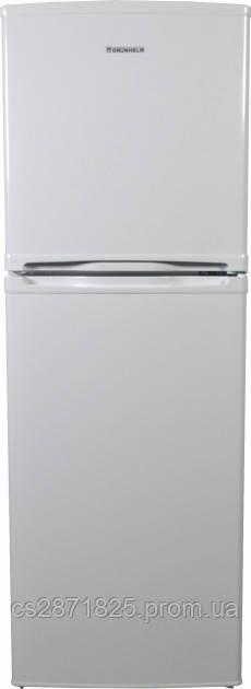Холодильник GRW-138DD ( (білий), двокамерний, верх. мороз, 138см (GRUNHELM)