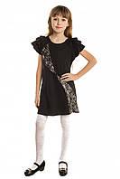 Трикотажное платье для девочки подростка