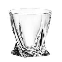 "Стаканы для виски ""Crystalite"" 6 шт Quadro 340 мл"