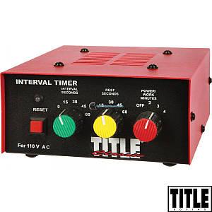 Таймер для боксу та єдиноборств TITLE CLASSIC TB-i1130