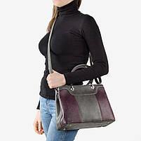Женская сумка серая, фото 3