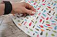 Евро-пеленка на молнии Magbaby c шапочкой Рыбки 3-6 мес, фото 5