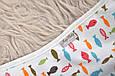 Евро-пеленка на молнии Magbaby c шапочкой Рыбки 3-6 мес, фото 6