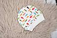 Евро-пеленка на молнии Magbaby c шапочкой Рыбки 3-6 мес, фото 8