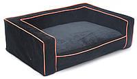 Диван для собак Шик черный №1 300х400х150