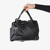 Чёрная женская сумка, фото 2