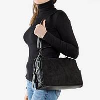 Чёрная женская сумка, фото 3