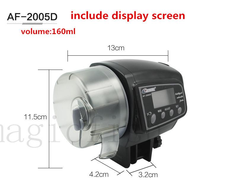 Автоматическая кормушка с дисплеем для рыб Resun AF-2005D