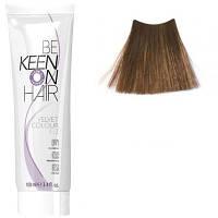Крем краска для волос без аммиака  KEEN Velvet Colour 7.0 натуральный блондин 100мл.