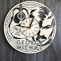 Концептуальные настенные часы 7Arts в интерьер Джордж Майкл CL-0346, КОД: 1474500