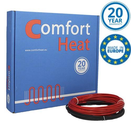 CTAV-18 - 24 м (420 Вт) тонкий нагревательный кабель двухжильный экранированный Comfort Heat