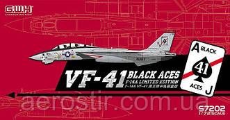 F-14A (VF-41 BLACK ACE) 1/72 GWH S7202