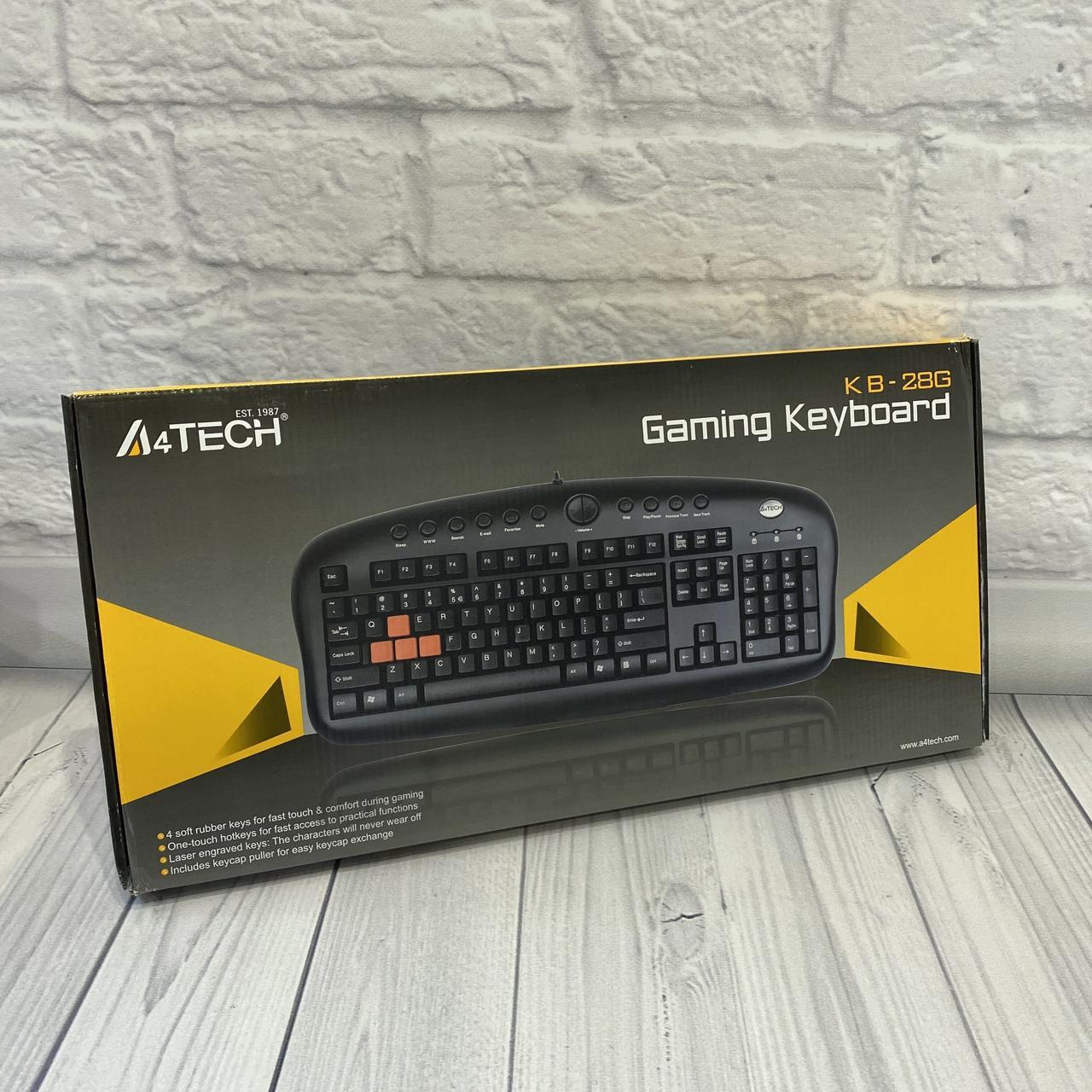 Проводные Клавиатуры A4tech KB-28G