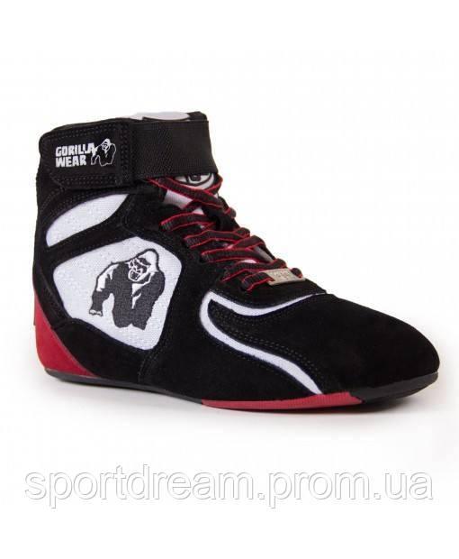 Купить Кросовки Gorilla Wear Chicago High Tops 36 Black/White/Red (9000691500)