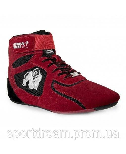 Купить Кросовки Gorilla Wear Chicago High Tops 39 Red/Black (9000650003)