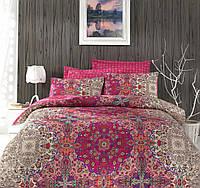 Двуспальный евро комплект постельного белья Cotton Box, сатин, Турция, фото 1