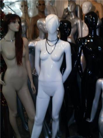 Манекен белый глянец. Женский 602-Ж1, фото 2