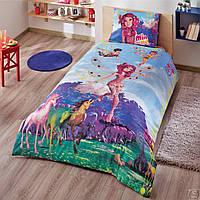 Подростковое полуторное постельное бельё, TAC Disney, Mia and Me Fairy, Турция