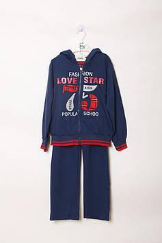 Спортивный костюм Happy House 14 year (159-164 cm) синий, серый (RY-QQ-556_Blue-gray)