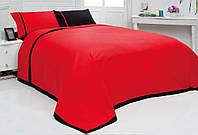 Двуспальный однотонный евро комплект постельного белья, ранфорс, Irina Home, Walls Home, Турция