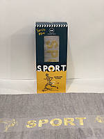 Полотенце для лица Sport -70х140 см (1шт), махра-100% хлопок, Турция