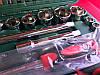 Набор инструментов для ремонта автомобиля 108  деталей, фото 4