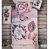 3D Подростковое полуторное постельное белье Deco Bianca,Sleep, ранфорс, Турция