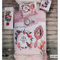 3D Подростковое полуторное постельное белье Deco Bianca,Sleep, ранфорс, Турция, фото 1
