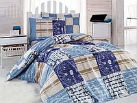 Подростковый полуторный комплект постельного белья Cotton Box Private, ранфорс, Турция, фото 1