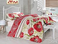 Двуспальный  евро комплект постельного белья First Choice Gelincik, ранфорс, Турция, фото 1