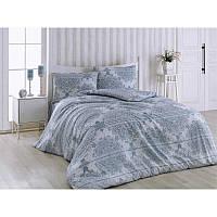 Евро комплект постельного белья Eponj Home - Arden Mavi,  ранфорс, Турция, фото 1