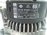 Генератор Nissan Micra K11 1,0 1,3 бензин 70А вост. гарантия 1мес., фото 5