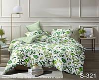 Двуспальный комплект постельного белья, сатин-люкс, S321, Украина, фото 1