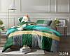 Двуспальный комплект постельного белья, сатин-люкс, S314, Украина