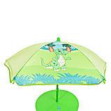 Детский садовый столик со стульчиками и зонтиком Bambi DINO, фото 4