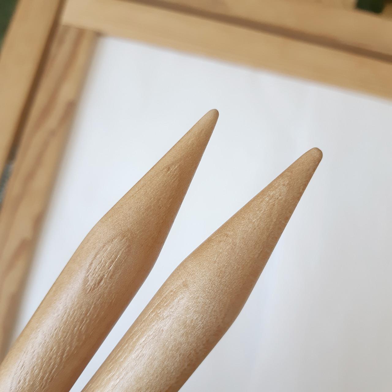 Круговые деревянные спицы 20 мм, 100 см