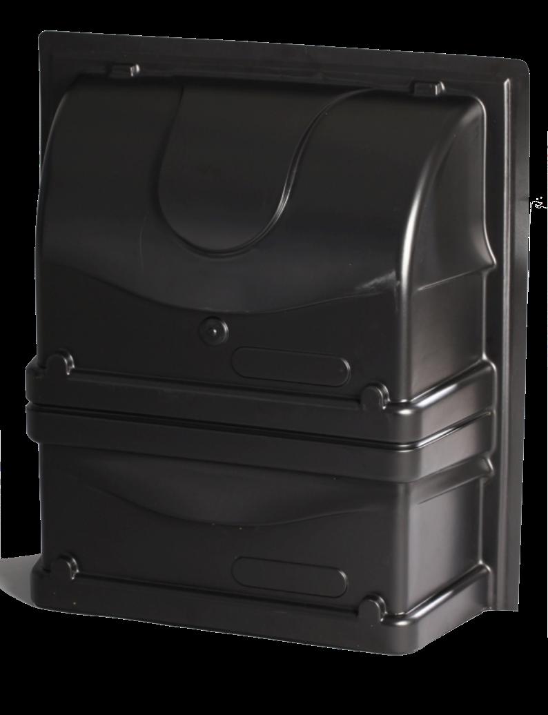 Светозащита 1000 х 1100 х 350 мм для двойных приточных форточек