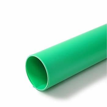70х130см зелений ПВХ Фон для зйомки Visico PVC-7013 Green
