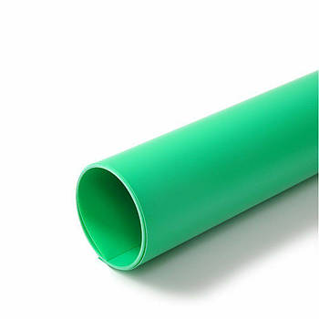 70x130см зеленый ПВХ Фон для съёмки Visico PVC-7013 Green