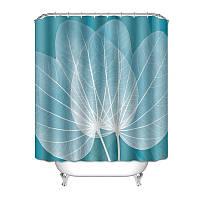 Штора для ванной Лист 180 х 180 см Berni, фото 1