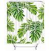 Штора для ванной Пальмовые листья 180 х 180 см Berni