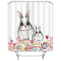 Штора для ванной Кролики 180 х 180 см Berni, фото 1