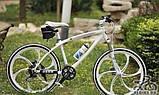 Спортивная бутылка для воды, велобутылка, фляга для воды, бутылка для воды на велосипед, фото 10